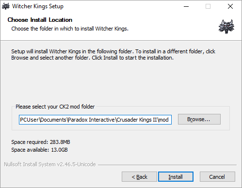 Creating a mod exe installer guide - Crusader Kings II Wiki
