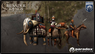 Indian cavalry units render picture