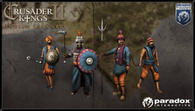 Indian infantry units render picture