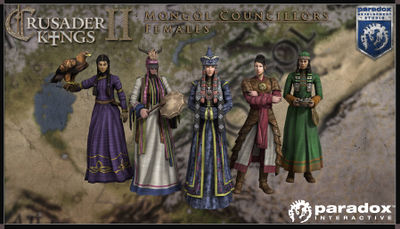 Mongol female councillors model pack.jpg